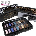 CIBBCCI EyeShadow Palette 10colors Makeup Shimmer Matte Eye shadow With Brush Makeup tool cosmetic sexy eye