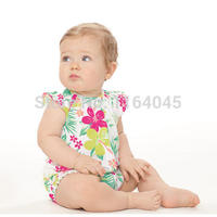SR1-023,Original, New Collection,  Baby Girls Cotton Print Creeper, With Allover Floral Print, Free Shipping