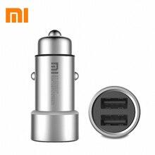 Оригинальный Xiaomi Mi автомобильное зарядное устройство 5 В/3.6A Dual car charger для Xiaomi iPhone Samsung + коробочный падение доставка