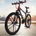 Горный спортивный велосипед  27-скоростной 26-дюймовый Одноколесный амортизатор  мужской и женский взрослый внедорожный велосипед  двойной д...