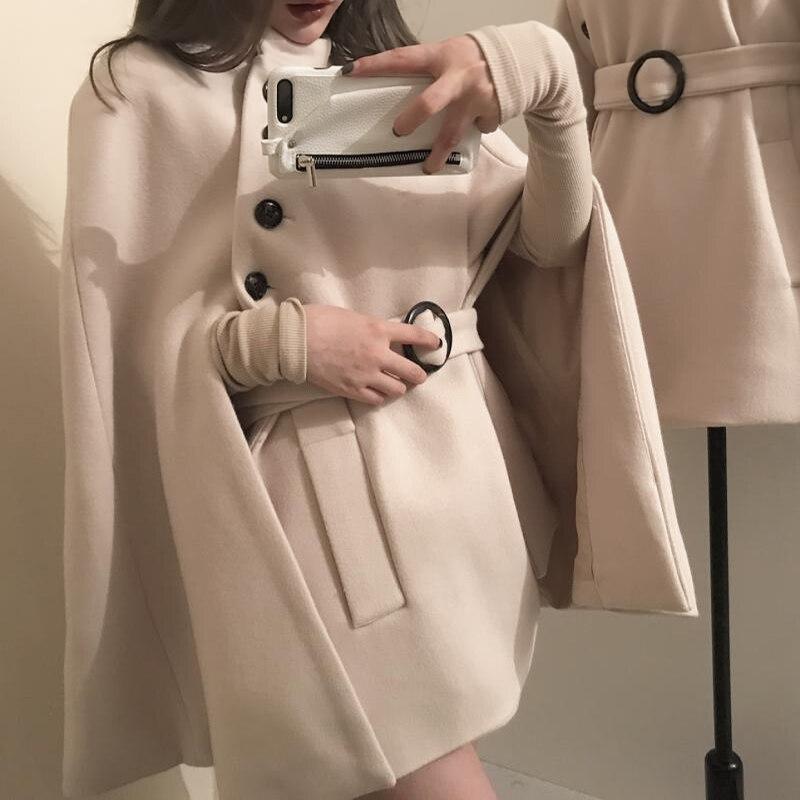 Manteau Femmes Avec souris 2018 Mode Printemps Solide Ceinture Rugod Longues La Chauve Femelle À Veste cou Tricoté O Manches Pour Élégant qnAHwa6Z