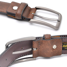 Stylish Black Grey / Dark Brown / Brown Belt