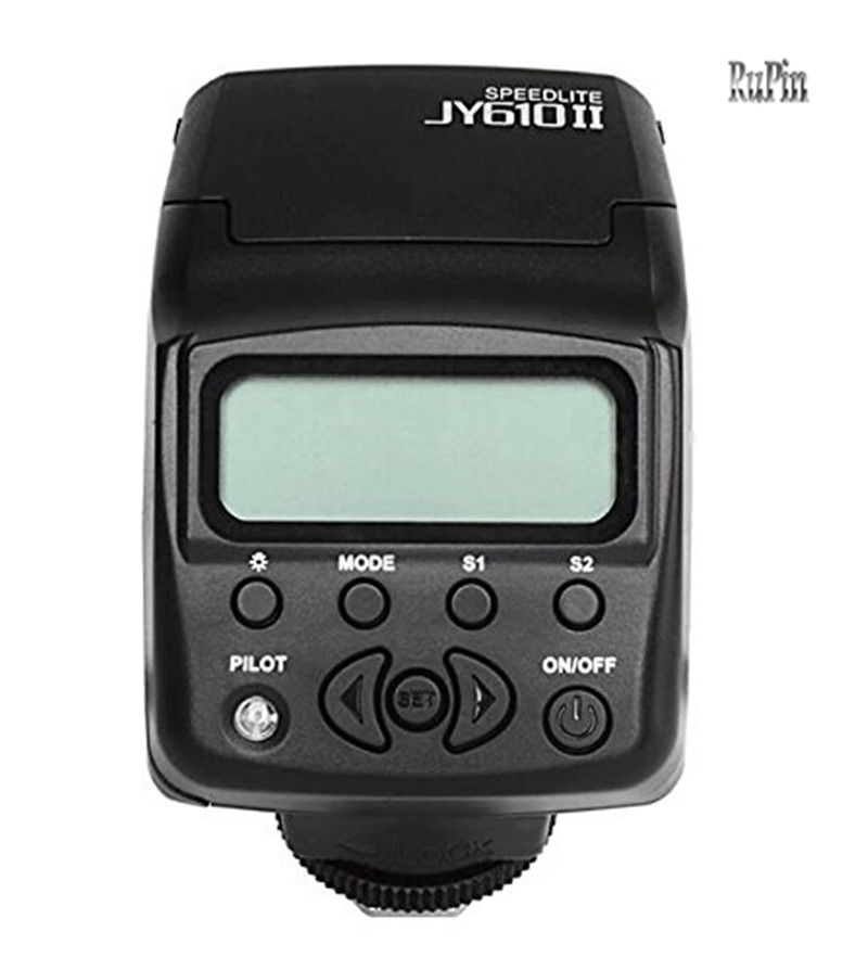 ФОТО Viltrox JY-610II mini LCD Flash Speedlite for Canon Nikon Olympus Sony A7 A7R