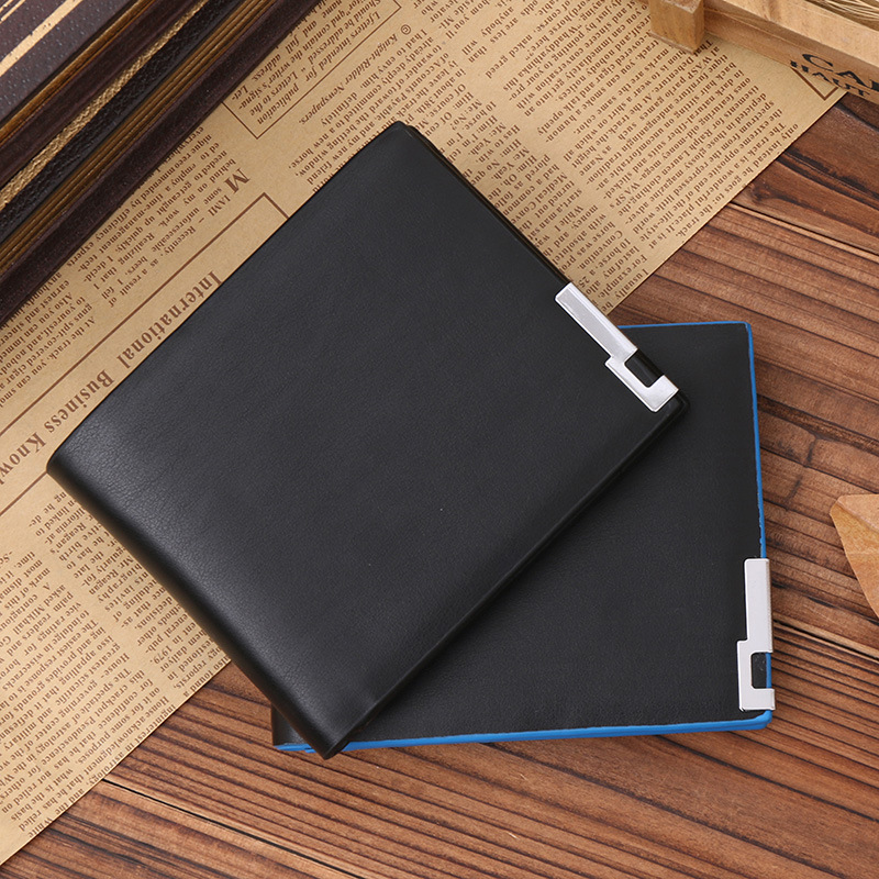 small short wallet men leather famous luxury brand slim men wallets credit card holders coin pocket new Year's gift 2