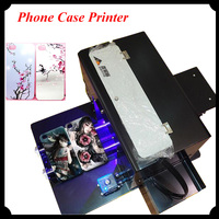 A4 UV Relief Phone Case Printing Machine Universal Flat Panel Printer DIY Metal Crystal T shirt Leather Stamping/Embossing L800