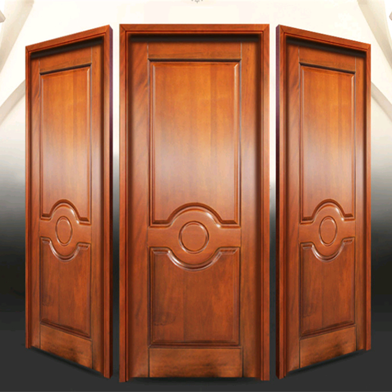 Us 249 0 Home Interior Room Teak Wood Frame Double Panel Door Design In Bedroom Sets From Furniture On Aliexpress 11 11 Double 11 Singles Day