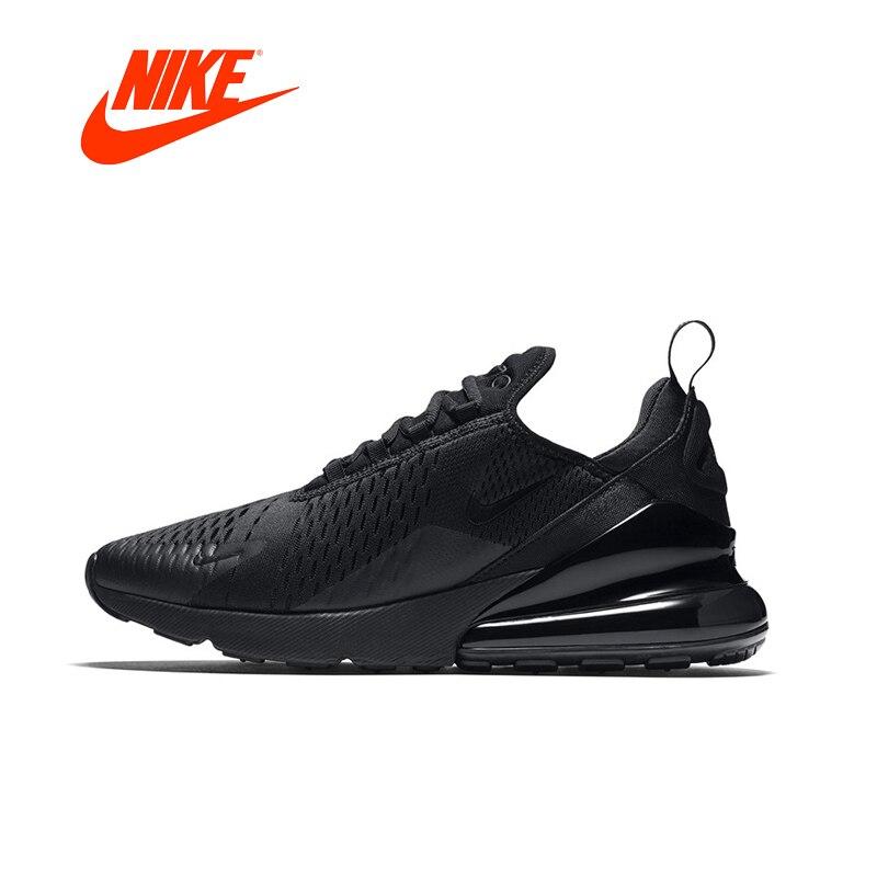 Nike Air Max 270 hombres zapatos Original nueva llegada auténticos deportes al aire libre zapatillas de deporte transpirables cómodos