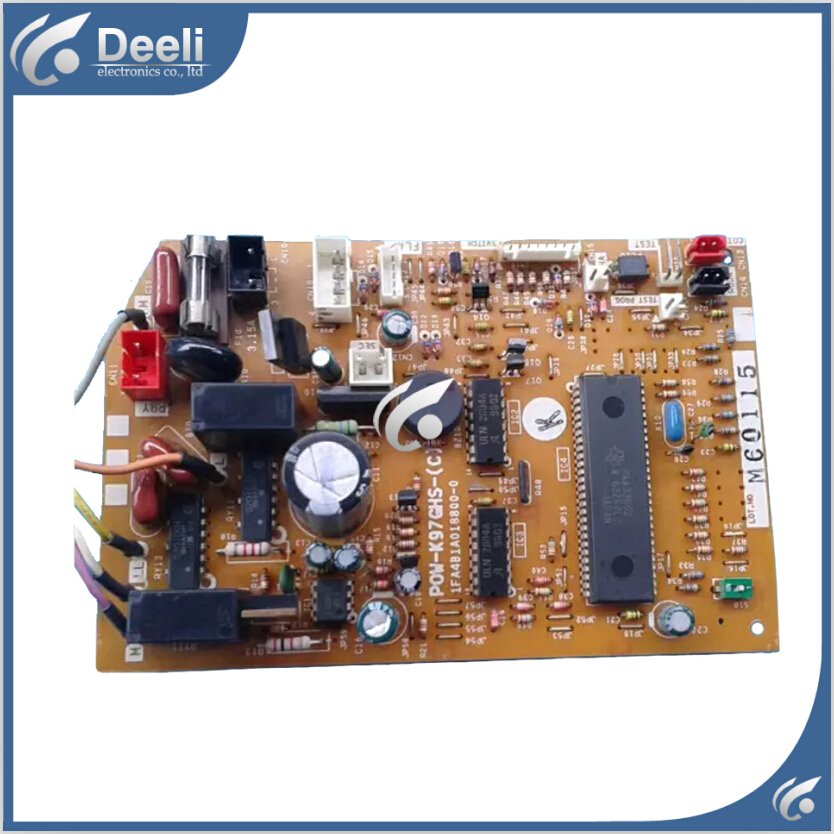 цена на 95% new Original for air conditioning Computer board POW-K97GHS-(C) 1FA4B1A018800-0 PC board
