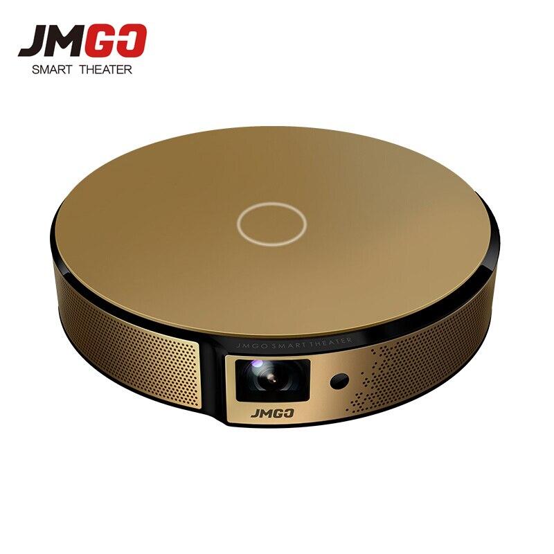 JmGO E8 DLP Projecteur Home Cinéma Intelligent Soutien 3D 1080 p 300 pouce Hi-Fi Bluetooth Projecteur Android WIFI Projecteur Beamer