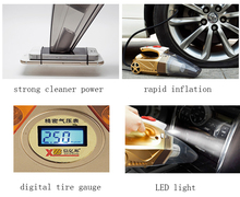 120W Portable Car Vacuum Cleaner Wet and Dry  Auto Cigarette Lighter Hepa Filter 12V High Quality Multi-function Tools