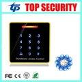 Sola puerta controlador de acceso biométrico sistema táctil lector de control de acceso de la tarjeta inteligente RFID ID card reader teclado resistente al agua