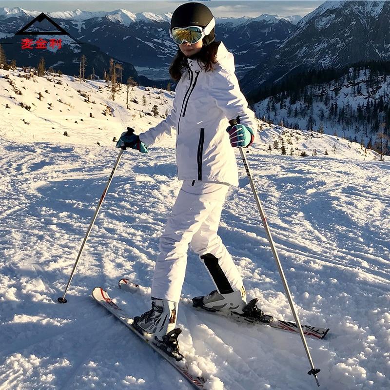 Hiver femmes de ski costumes femelle ski convient à femmes Montagne ski snowboard veste et pantalon dames garder au chaud vêtements de ski
