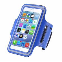 Waterproof PU Sports Running Arm Band For iPhone X 8 7 6 6S Plus SE 5 5C 5S 4 4S