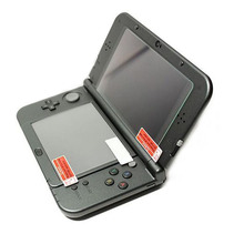 High Tempered Glass LCD Display screen Protector+Backside PET Clear Full Cowl Protecting Movie Guard for Nintendo New 3DS XL/LL 3DSXL/3DSLL