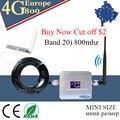 Усилитель сотового сигнала 4G LTE 800 Band 20  Репитер сигнала 4G LTE мобильный телефон