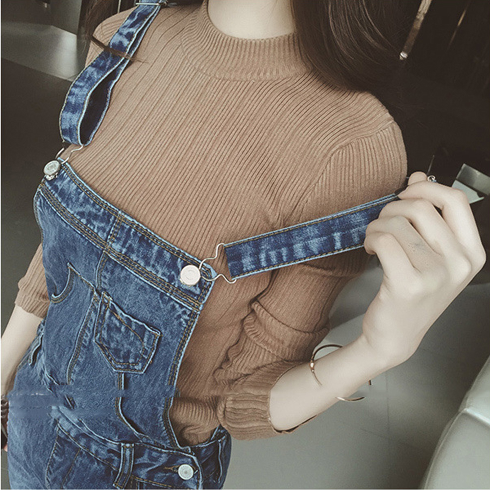 Brand Plus Size Ripped Maternity Skinny Jeans Bib Pants Denim Pregnancy Overalls Maternity Clothes Hamile Giyim Hole Trousers