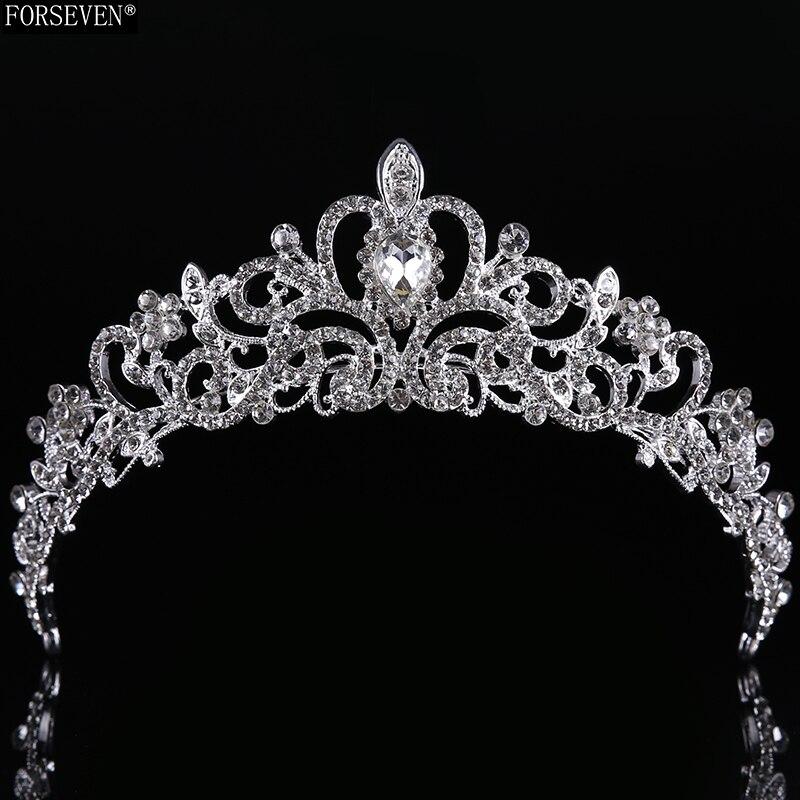 Nupcial Da Borboleta Flor Waterdrop Cor Prata Diamante de Cristal de Noiva 3 pcs Set Colar Brincos Conjunto De Jóias de Casamento Da Tiara Da Coroa (19)