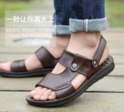 Summer new men's sandals casual sandals outdoor non-slip breathable beach shoes R57