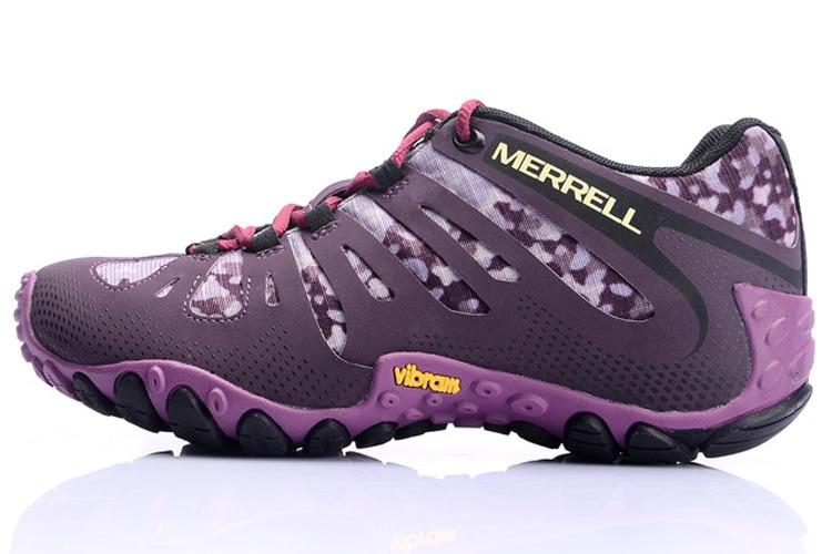 Merrel camuflaje de malla púrpura transpirable ligero
