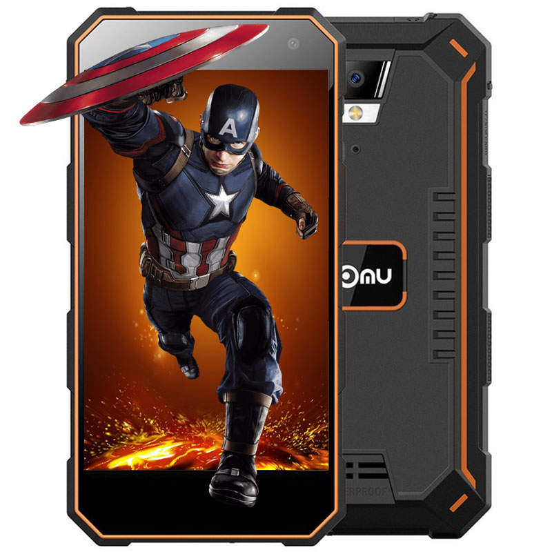 Nomu S10 Android 6 0 Original 5 0inch 4G Smartphone 5000mAh Built in MTK6737 1 5GHz
