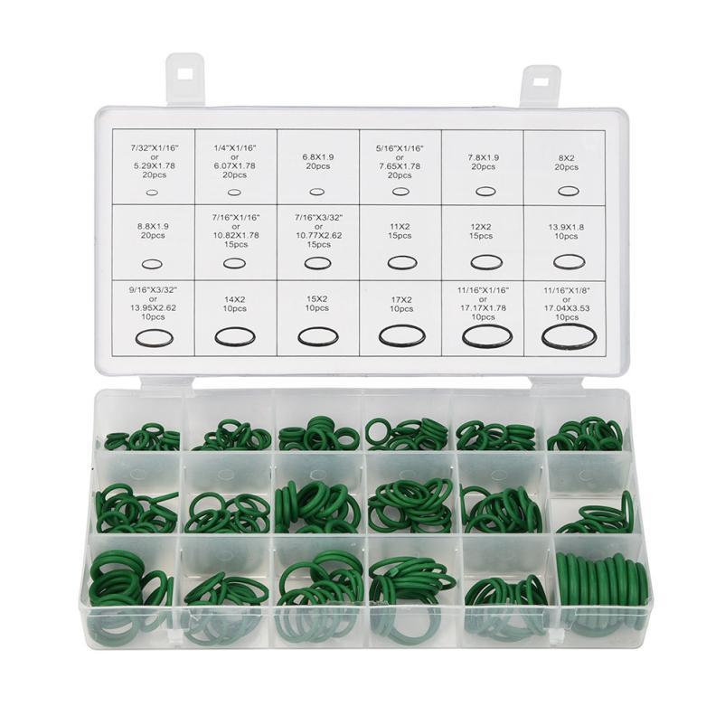Car-styling 270Pcs Assortment Kit Car A/C System Air Conditioning O Ring Seals Set Tool L0530
