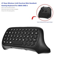 все цены на 47 Keys Wireless 2.4G Practical Mini Handheld Keyboard Gaming Message Gamepad Keyboard For XBOX ONE S Controller Dropshipping онлайн