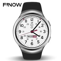 Finow X3 K9 Smart Watch android 1.3 Pedometer Fitness Tracker Bluetooth 3G Wifi 4.4 512M+4G For iOS&android Phone PK KW18 I2