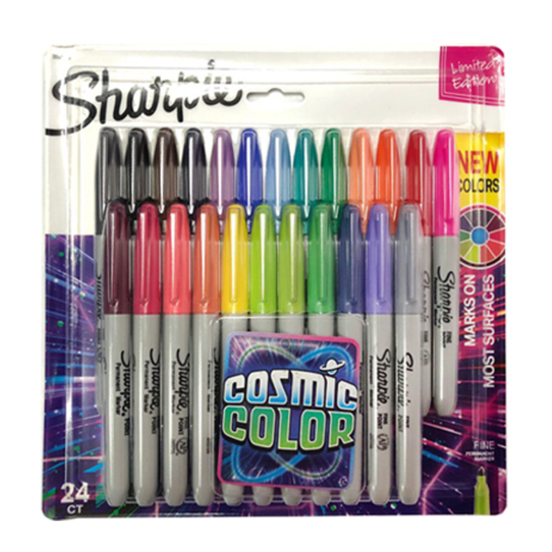 Pens Marker-Pen Office-Stationery Colored-Markers Sanford Permanent-Colour Sharpie Oil