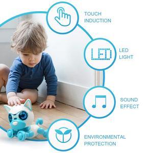 Image 2 - Robô cachorro filhote de cachorro brinquedos para crianças interativas brinquedo presente de aniversário presentes de natal robô brinquedos para a menina do menino