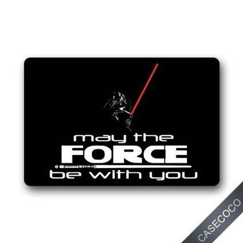 Rubber floor mats cheap - Custom Star Wars Doormat Door Welcome Mat Rug Cove