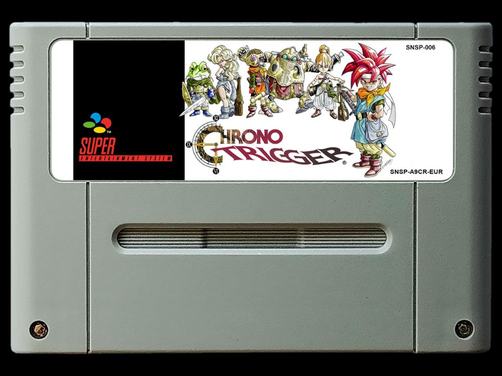 16Bit Games ** Chrono Trigger ( French PAL Version!! French Language!! ) image