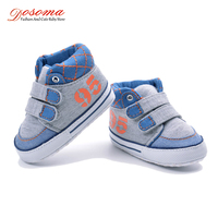 Dosoma Canvas Baby Boys Shoes 2018 New Spring Kids Buckle Strap Casual Shoes Skid Wearable Shoes