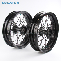 12mm 15mm Front 1.40x14 inch Rear 1.85x12 inch Alloy Wheel Rim For 160cc 150CC Dirt Pit bike 12 14 inch wheel