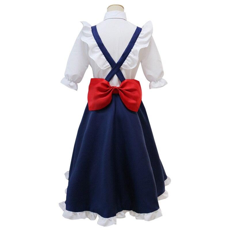 Косплэй аниме мисс Кобаяши Дракон горничной Тору Косплэй Кобаяши Сан-Чи нет взрослый костюм горничной индивидуальный заказ полный набор