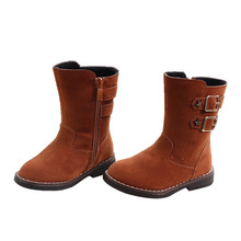 04c78120808 Children Boots kids Shoes Kids boots leather snow boot girls boys boots  cheap hot new girls