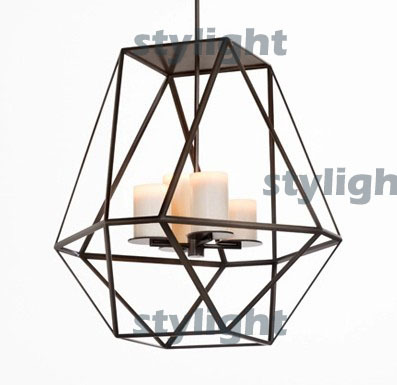 Diameter 46cm GEM Modern Pendant lamp LED candle chandelier Lighting Innovative candle and metal light fixture modern pendant lamp led candle chandelier kevin reilly hemel math ring lighting innovative small and large size milk white glass