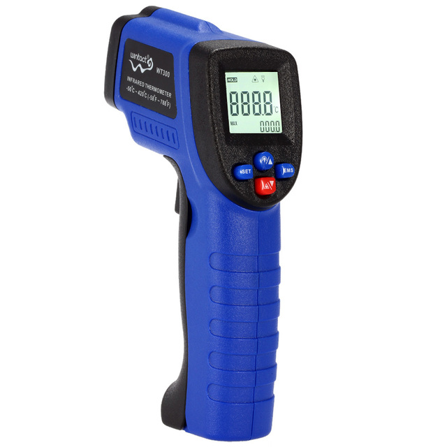 Pyrometer Digital thermometer temperature gauge Diagnostic-tool -50C~420CHandheld LCD Laser IR Infrared Thermometer Non-Contact