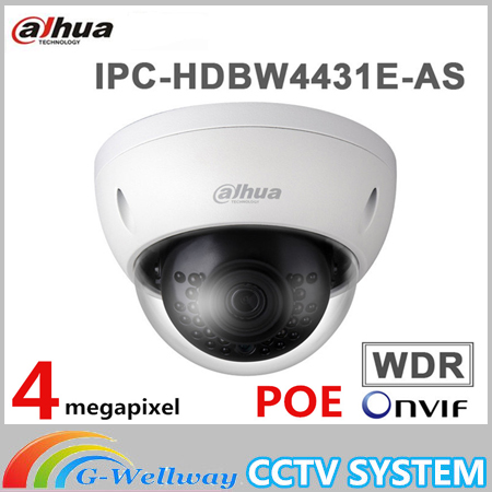 цены на Dahua original DHI-IPC-HDBW4431E-AS 1080P IR mini Dome Network Camera IPC-HDBW4431E-AS CCTV Security camera в интернет-магазинах