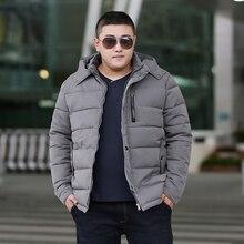 b Man Jacket Winter Warm Parka Men Coat Hiver Veste Hommes Plus Size 6XL 7XL 8XL  9XL Gray Cotton