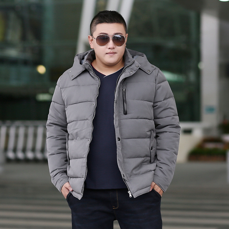b Man Jacket Winter Warm   Parka   Winter Jacket Men Coat Hiver Veste Hommes Plus Size 6XL 7XL 8XL 9XL Gray Cotton Jacket