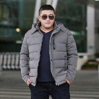 b Man Jacket Winter Warm Parka Winter Jacket Men Coat Hiver Veste Hommes Plus Size 6XL 7XL 8XL 9XL Gray Cotton Jacket