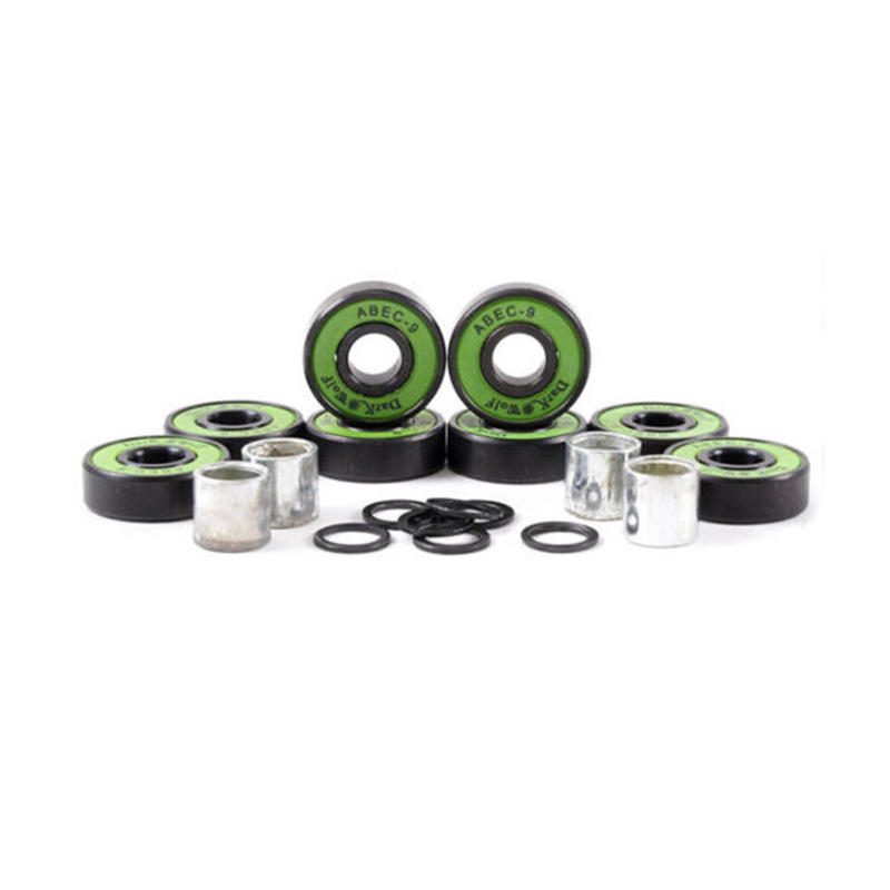 Details about  Dark Wolf Skateboard Bearings ABEC-9 Speed Stainless Green 8pcs with 4x Spacer [zob] supply of new original omron omron limit switch zc w255 factory outlets 5pcs lot
