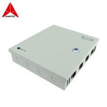 Juantec 12 В 2A адаптер 110 В 220 Напряжение Вход 9 порта выход Питание для видеонаблюдения Камера IP Камера и видеорегистратор NVR