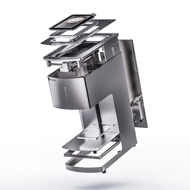 Monochrome Laser Printer CE Approved Edible Coffee Latte Art Machine Inkjet Printer