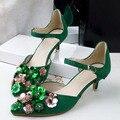 Flores clips de zapatos tienda de decoración accesorios Del Zapato zapato clip rhinestones cristalinos del encanto de material N2010