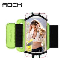 Rock Sports Armband Case for iPhone 8 7 Universal Wrist Running Sport Arm Band Bag  for 4-6 inch Phone Devices