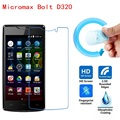 Micromax Bolt D320 Screen Film, 2.5D Ultra-Thin HD Clear Soft Pet Screen Protector Film for Micromax Bolt D320