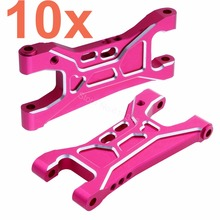 10Pairs Lot For 3Racing Sakura D4 Aluminum Rear Lower Suspension Arm EP 1 10 RC Drift