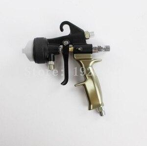 Image 3 - Two Head Chrome Spray Gun Dual Nozzle Silvering Polyurethane Foaming Mirror Chrome Paint Nano