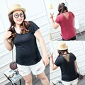 Kesebi 2017 Spring Summer New Hot Fashion Women Korean Plus Size Sexy Hollow Out T-shirts Female Short Sleeve Casual Simple Tops